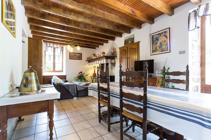 grand appartement dans maison de style basque - Louhossoa - 단독주택