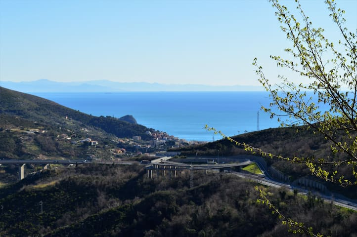 Relax and you see the sea - B&B Edel - Noli