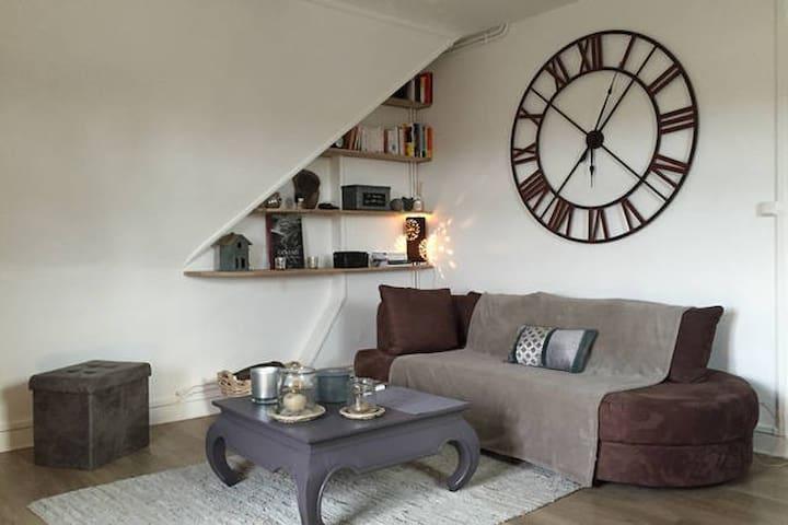 Appt 2 beds, 75m2, 25mn from Paris - Chantilly - Apartamento