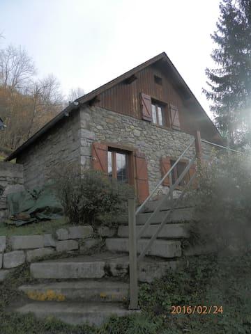 location chalet de montagne - Ustou - Hytte (i sveitsisk stil)