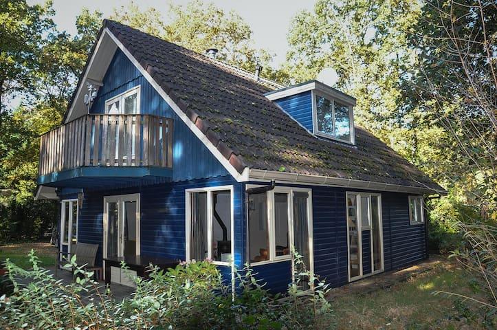 Ruim en comfortabel huis midden in bos van Norg - Norg - Kabin