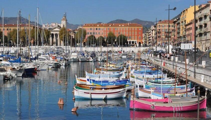COTE D'AZUR/Nice Le port - 3 pièces - Nice - Leilighet