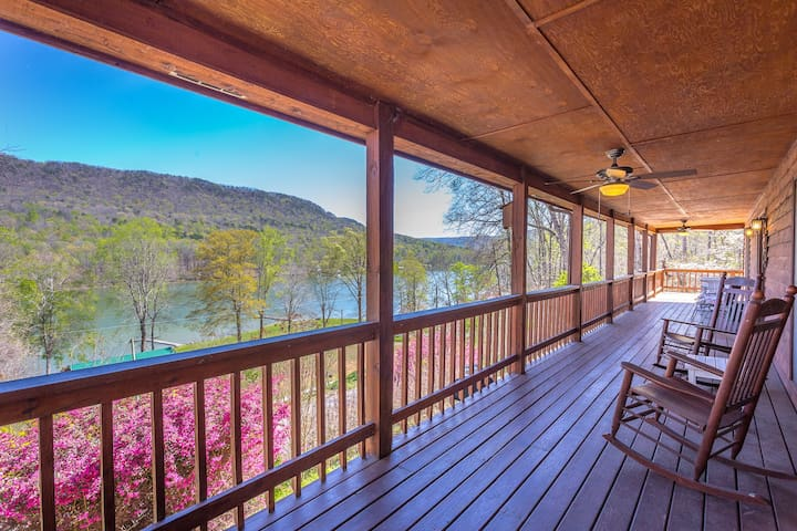 River and Mountain View Lodge - Chattanooga - Huis