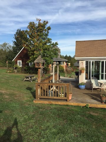 Sunny, mountain view cottage in quiet neighborhood - 安吉利斯港(Port Angeles)