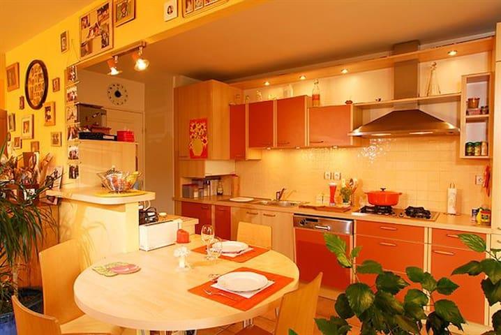 3 pieces  résidence calme et bien située - Miribel - Leilighet