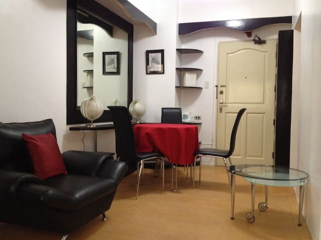 Furnished Condo w Parking near Mall - Quezon City - Wohnung