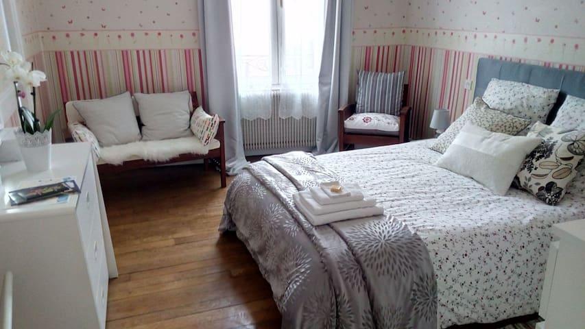 Confortable bedroom - 10 min walk to DT ! - Orléans
