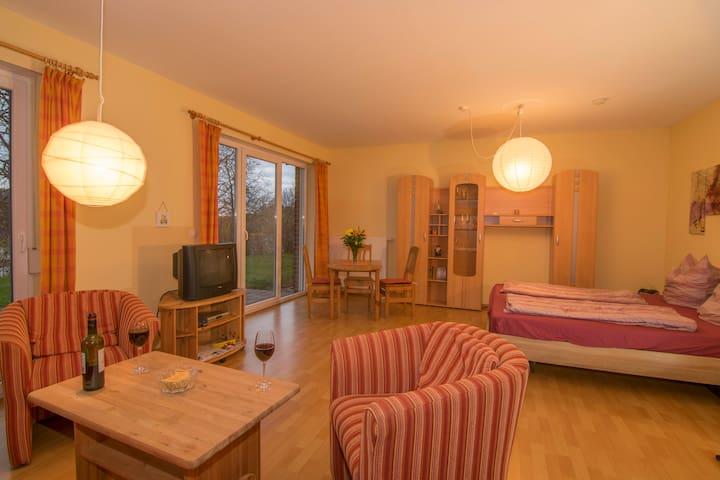 Wohnung Eisvogel am Wasserturm - Röbel/Müritz - Appartement