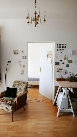 1,5 ZKB fast im Himmel - Halle (Saale) - Apartemen