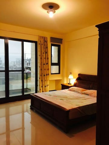 Gaomei wetlands. Romantic Queen Suite - Qingshui District - Huvila