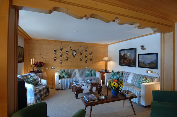 Luxury Apartment in the centre of Gstaad - 薩嫩(Saanen)
