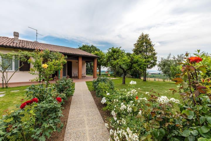 Meravigliosa casa con giardino e vista Lago - Lazise - Casa de camp