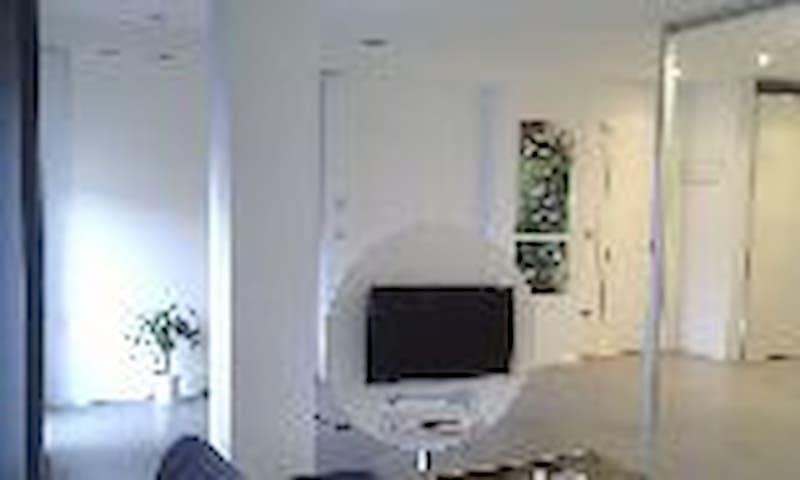 Habitación en apartamento de diseño - Mutriku - Daire