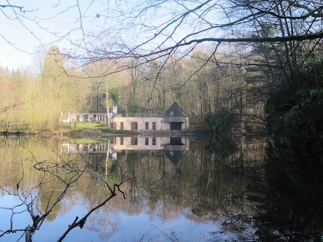 Maison d'architecte dans la forêt - Jurbise - Hus