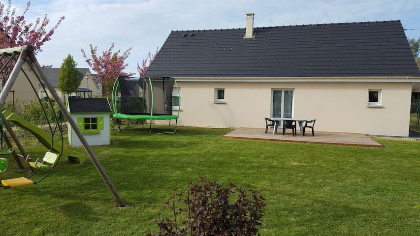 Maison Néville (à 5 km St valéry en caux) 6 pers - Néville - Huis