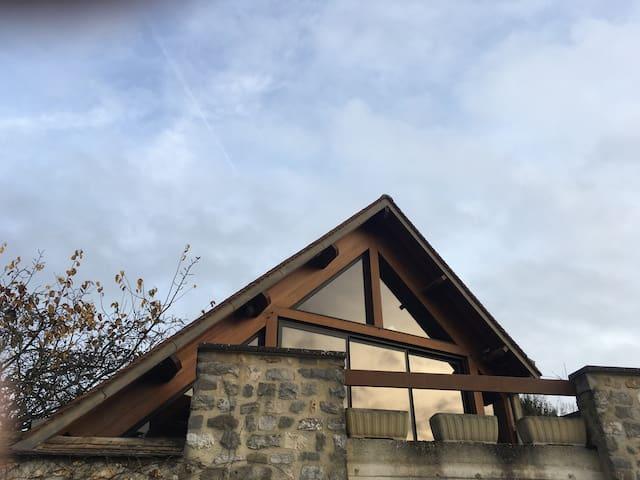 LA CHARPENTERIE - Rochefort-en-Yvelines - Daire