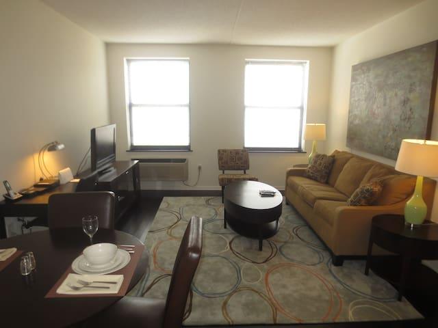 Luxury 1-Bedroom Apt in Morristown NJ - Morristown - Departamento