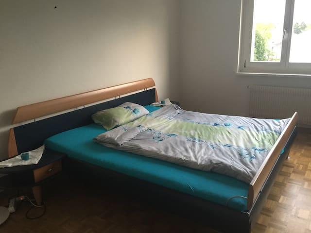 2Pers. *Bedroom* 15'to mainstation - Urdorf - Apartmen