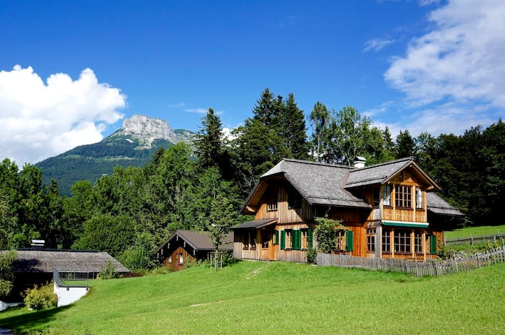 ALTAUSSEE LODGE - big, bright, new - pure living ! - Altaussee  - Hus