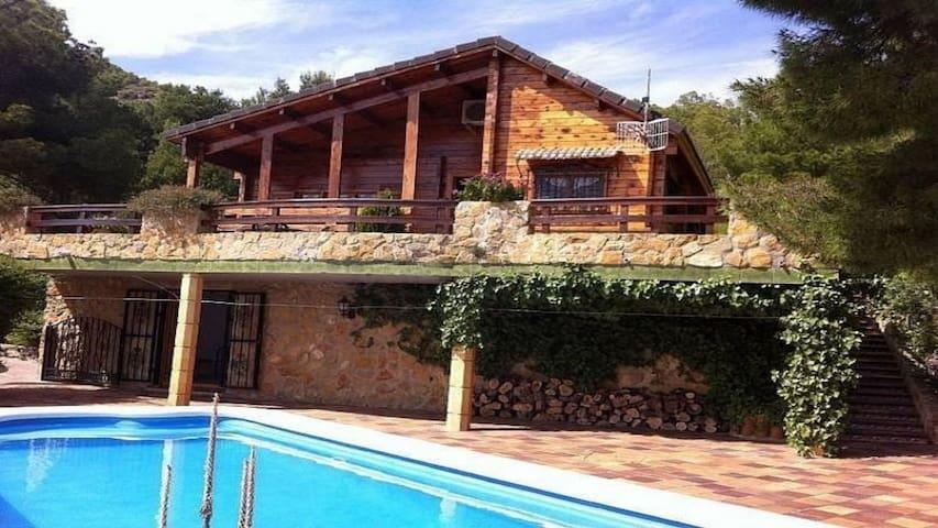 Villa, jardin y piscina privada, Sagunt_Valencia - Sagunto - Villa