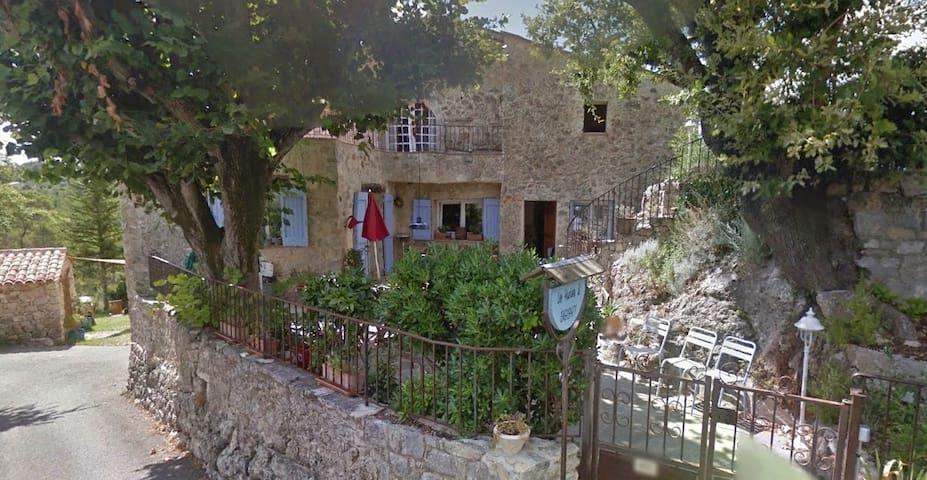 """Provenzal Bastide """"El Estanco"""" cabaña para 4 - Seillans - Departamento"""