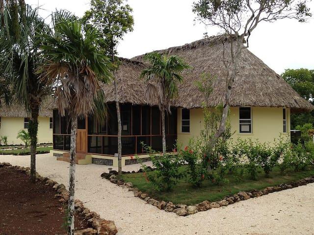 Belize Casita 6A Water Front - Copper Bank - Hytte (i sveitsisk stil)