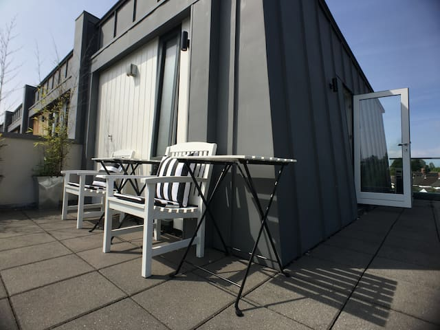 Near town: ensuite & roof terrace. - Cardiff