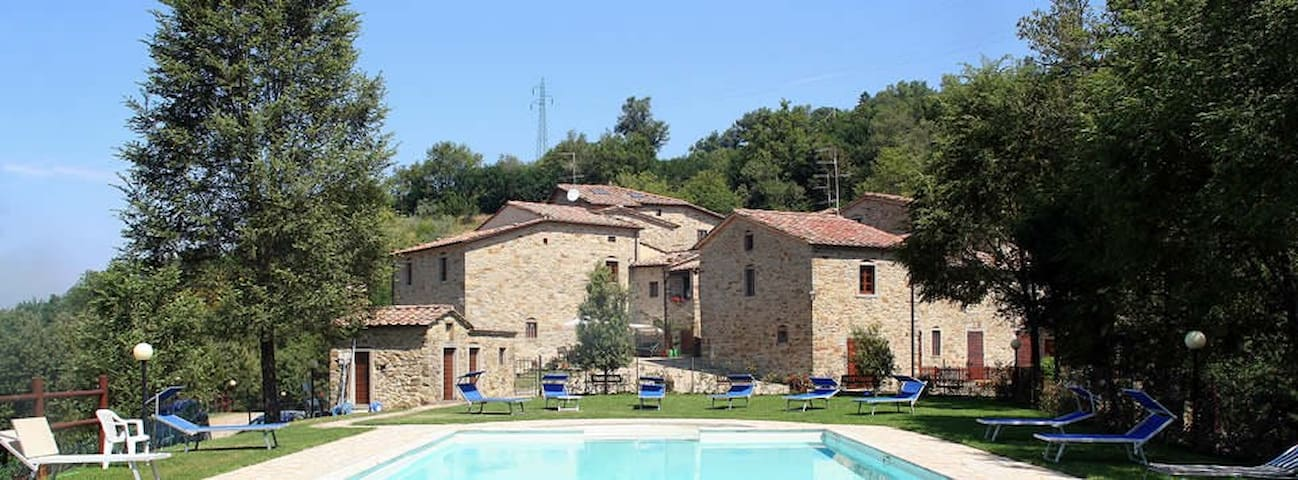 A charming stay in a  Medieval Village in Tuscany - Subbiano - Appartement