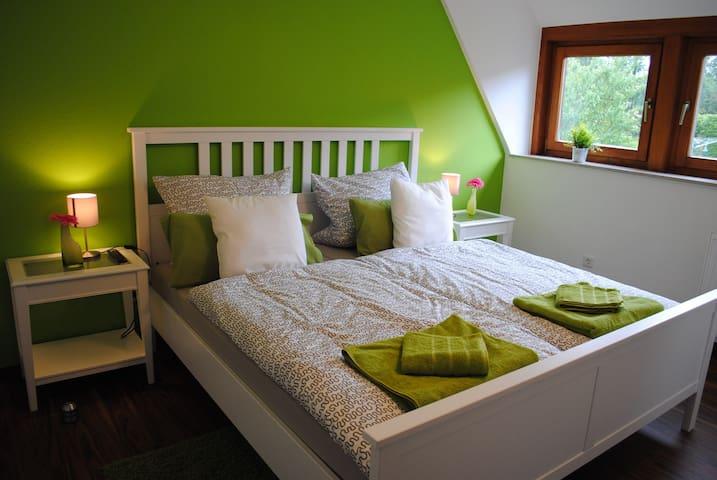 Schönes DZ (Nr. 2)  in Zentru(SENSITIVE CONTENTS HIDDEN)ähe und Naturnah - Detmold - Appartamento
