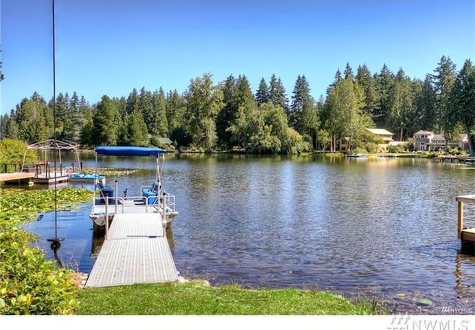 西雅图 Pine Lake湖边独立房 - 瑟馬米甚(Sammamish)