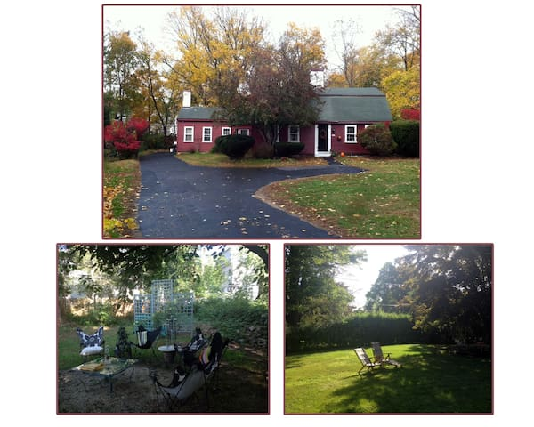 Bohemian Chic (midway between Boston & The Cape) - Middleborough - Maison