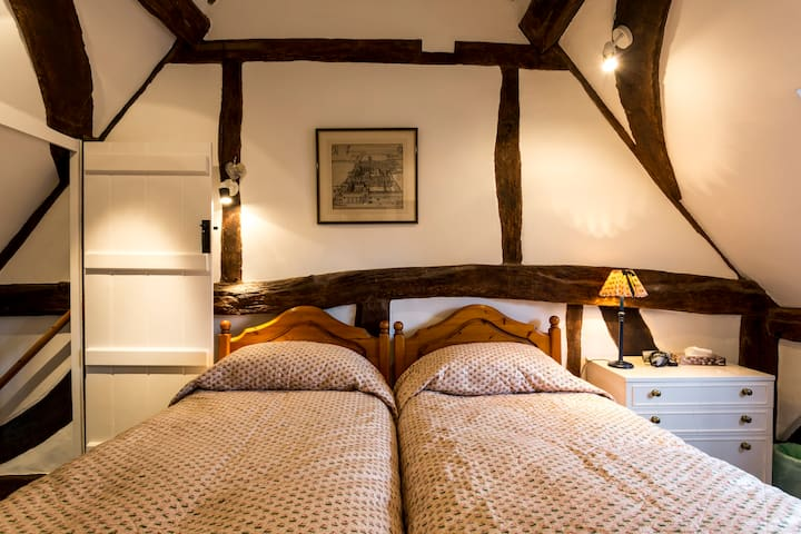 17th century cottage Georgian town - New Alresford - Pension