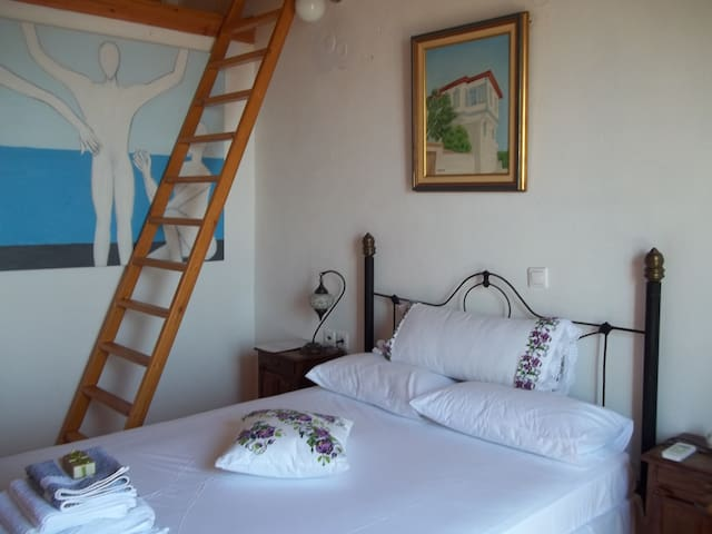 In the nature-Ikaria 4p.with loft.1 - Μαγγανιτης - Leilighet