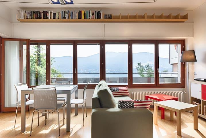 Lake Maggiore's Cozy Nest (w/ GREAT view) - Località Tre Ponti - Departamento