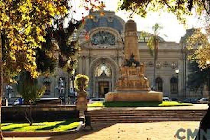 En Bellas Artes, cultura, gastronomía y patrimonio - Santiago - Pis
