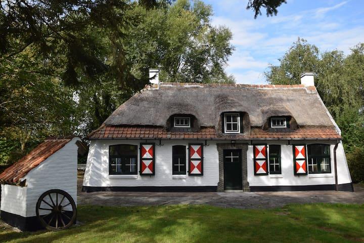 La petite chaumière - Frasnes-lez-Anvaing - Huis