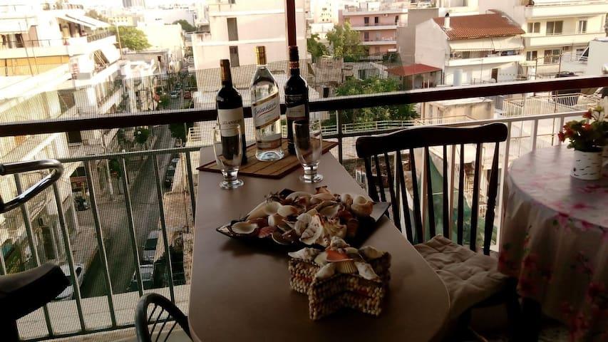 Cozy room in Peria! - Pireas - Departamento