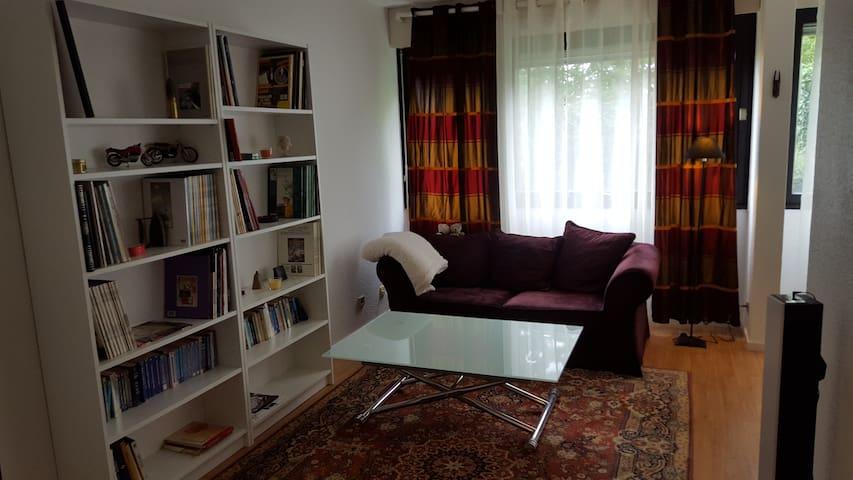 T2 Confort - Centre - 10' de Genève - Saint-Julien-en-Genevois - Huoneisto