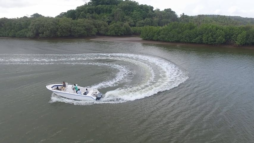 Relax on a luxury boat and ride - North Goa - Barco