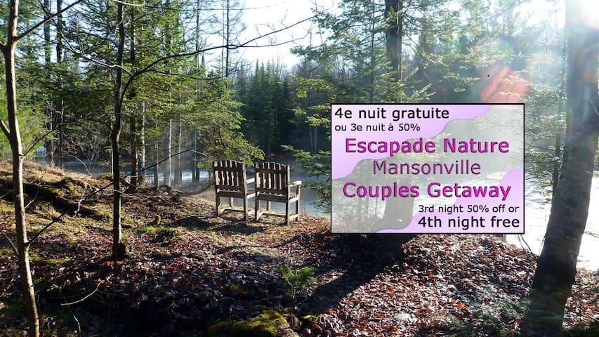 Couple's Getaway - Hummingbird Room - Mansonville