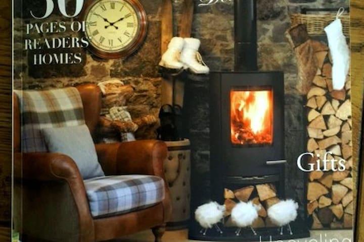 Luxury Modern Cottage in heart of Historic Village - Clarinbridge - Hus