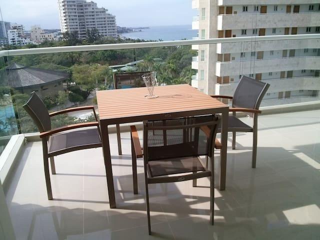 Modern apartment in Bello Horizonte - Santa Marta - Daire