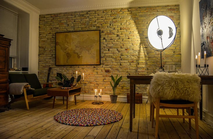 Cozy bright room in a perfect location! - Copenhague - Departamento