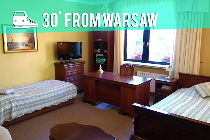 B&B in Podkowa Leśna near Warsaw #1 - Podkowa Leśna - Bed & Breakfast
