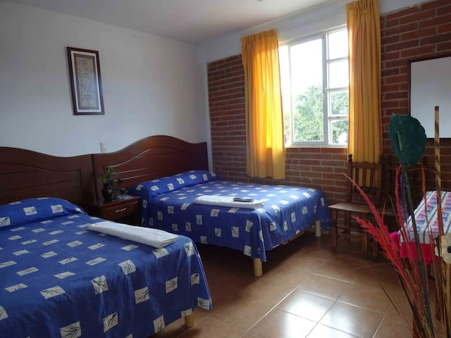 Traditional cosy Mexican rooms - MX - Aamiaismajoitus