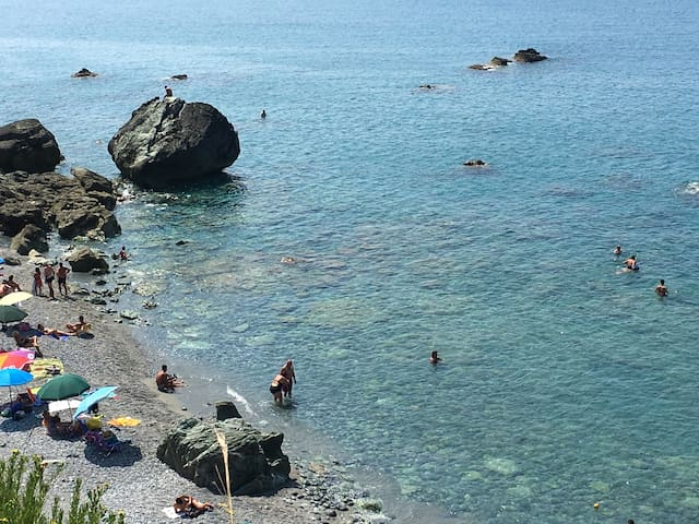 Posidone sea, count ry pick up incl - Campora San Giovanni - Casa