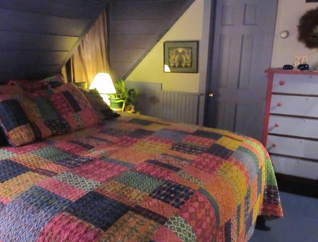 Near Popham Beach: Breezy Blue Room - Phippsburg - Bed & Breakfast