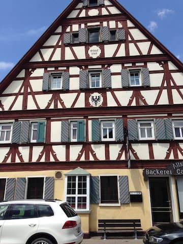 Fachwerkhaus in der Altstadt , Wohnung Silvaner - Bad Windsheim - Leilighet