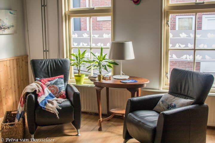 Het Kiezelhuys, charming small house for two. - Zaamslag - Casa