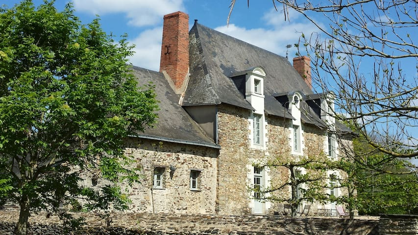 La Grange du Plessis - Chambre Mangue - Segré - Casa de huéspedes